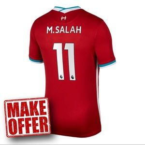 Mohamed Salah Home Jersey Liverpool 20-21